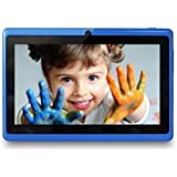 Zibo 7 inch 8GB TFT Android Tablet PC, 4.4 Gingerbread OS Allwinner A33 CPU 1.5Ghz Quad-core, Dual Camera (Blue)