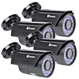 Swann SRPRO-815WB4-CL-PB-R 1080p Day/Night Security Camera 4 Pack