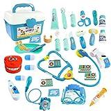 WTOR Toys 36PCS Medical Kits Pretend Play Doctor Toy Dentist Play Doctor Set Kids Play Set for Girls Boys School Classroom
