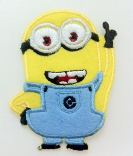 Amazon.com: Despicable Me Minion Embroidered Iron On Patch / Sewn On ...
