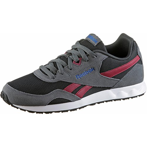 Reebok Herren Royal Connec Fitnessschuhe Mehrfarbig (Hs / Alloy / Coal / Cranbery Red / Vital Blue / Wh 000)