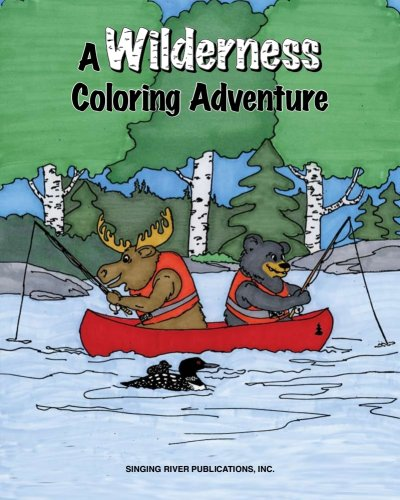 A Wilderness Coloring Adventure pdf