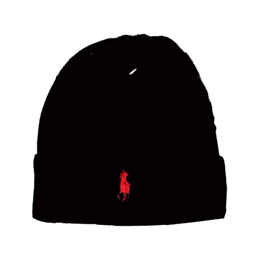 Generic Men Women Lambs Wool Polo Color Beanie Skull Warm Cap Knit Winter  Hip Hop Hats 3516e8005ad