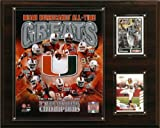 NCAA Football Miami Hurricanes All-Time Greats Photo Plaque