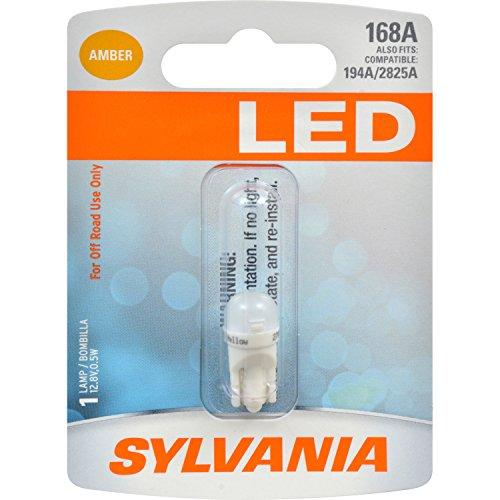 SYLVANIA 168 Amber Bulb Contains