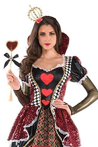 Cute Little Queen of Heart Crown Fascinator - DeluxeAdultCostumes.com