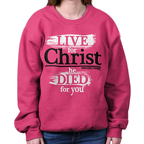 Christian T Shirt | Living Christ Jesus Storybook Bible Faith Sweatshirt (56 Storybook)