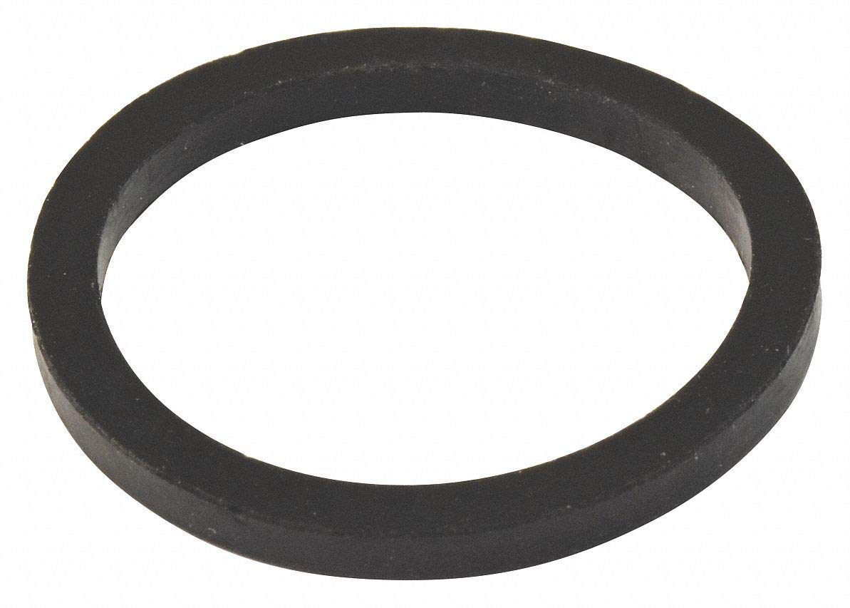 Rubber Black Washer, 1-1/4'' Pipe Dia, Slip Connection - Drains- Pack of 5 by Unknown