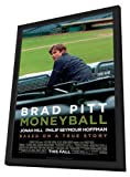 Moneyball - 27 x 40 Framed Movie Poster