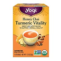 Yogi Tea, Honey Chai Turmeric Vitality, 16 ct