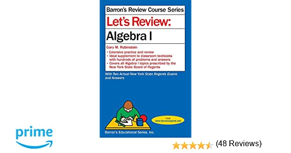 Amazon algebra trigonometry books lets review algebra i lets review fandeluxe Image collections