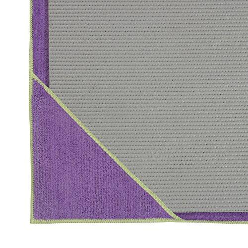 Gaiam Stay Put Yoga Towel Mat Size Yoga Mat Towel (Fits