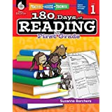 180 Days of Reading for First Grade (Ages 5 - 7) Easy-to-Use First Grade Workbook to Improve Reading Comprehension Quickly, Fun Daily Phonics Practice for 1st Grade Reading (180 Days of Practice)