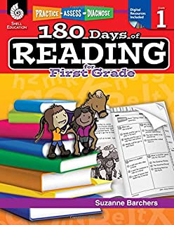 Amazoncom 180 Days Of Reading For 2nd Grade Second Grade Workbook
