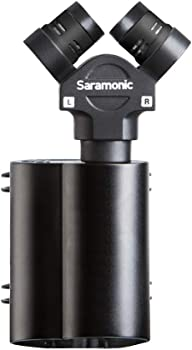 Saramonic Vmic Stereo Camera-Mount Stereo Condenser Microphone