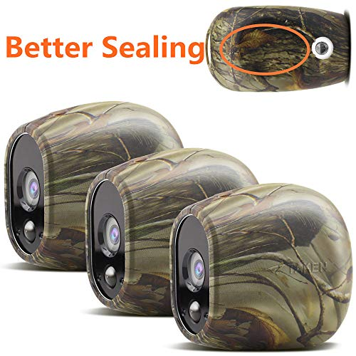 Silicone Skins Compatible with Arlo Smart Security Home Camera, Taken Silicone Skins Case Cover for Arlo Smart Security Wire-Free Cameras, 3 Pack, Camouflage (Camera Case Camouflage)