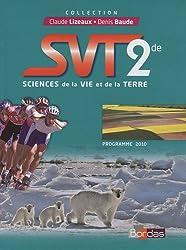 SVT 2e : Programme 2010