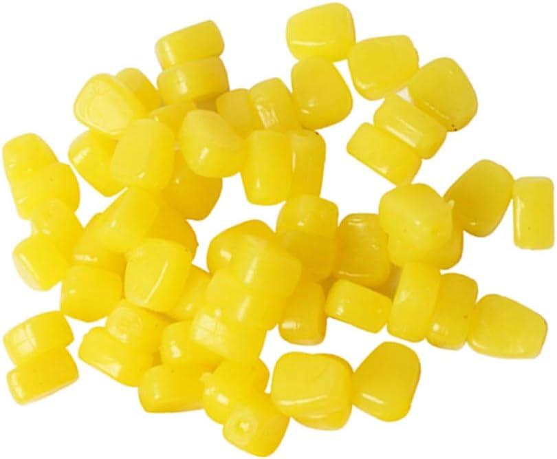 100Pcs Good Smell Soft Lures Pop-up Bait Corn Grain Fishing Lure Carp Bait