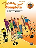 Alfred's Kid's Guitar Course Complete: The Easiest Guitar Method Ever!, Book, Online Audio, Video & Software