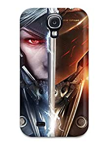 New Premium CaseyKBrown Raiden Metal Gear Rising Revengeance Skin Case Cover Excellent Fitted For Galaxy S4 by icecream design