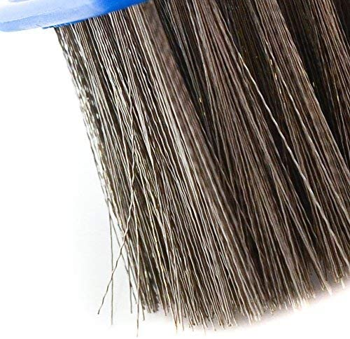 FEIDAjdzf Swimming pool wall brush 10 inch Heavy Duty Stainless Steel Wire Pool Algae Brush for Concrete and Gunite Pools and Walkways