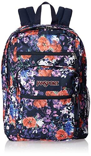 Face Poly (JanSport Big Student Backpack- Sale Colors (Morning Bloom))