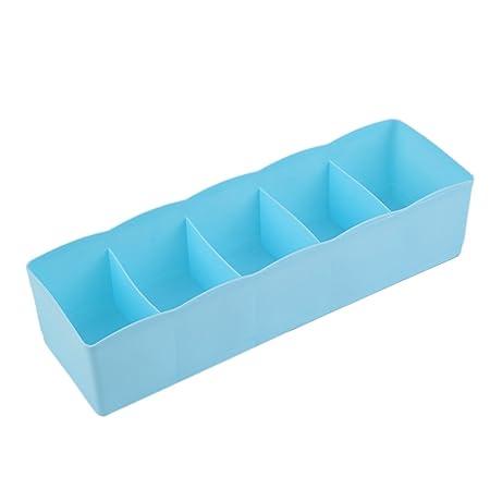 FayOK - Caja de Almacenamiento Multiusos con 5 Compartimentos para ...
