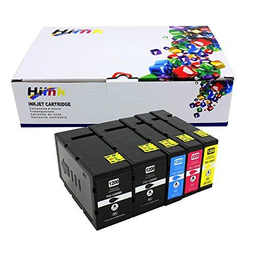 HI INK 5PK PGI-1200XL 1200 XL Pigment Ink Cartridges For Canon MAXIFY MB2020 MB2220 MB2320 MB2720