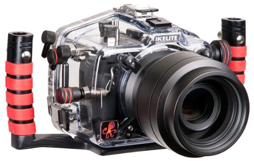 Ikelite Canon T4i, T5i, 650D, 700D Housing Underwater Camera, Clear (6871.65) by Ikelite