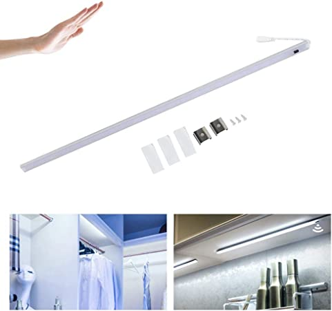GOTOTO 6 W/11 W/15 W - Lámpara LED de Armario con Sensor de Infrarrojos para Armario, Escalera, Pasillo, Cocina, Garaje, luz Blanca fría 6000 K, 1ft 6w: Amazon.es: Hogar