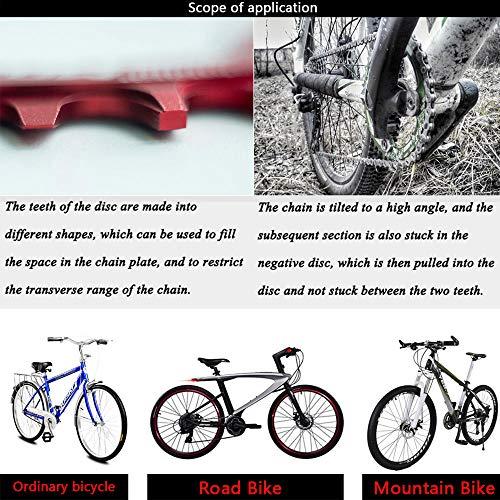 VXM 104BCD Chainring 40T 42T 44T 46T 48T 50T 52T【2019 CNC 7075-T6 Aluminum】  Narrow Wide Chain Ring for Road Bike,Mountain Bike,BMX Bike,MTB Bike