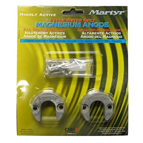 Martyr CM-806189KIT Magnesium Alloy Mercury Anode Kit