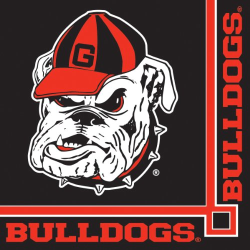 Georgia Bulldogs Beverage Napkins,