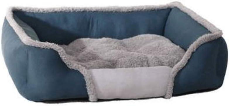 MMAWN ペット犬用ベッド犬のための整形外科の豪華なフェイクファーソファースタイルのリビングルームソファベッドペットベッド (Size : 79*60*19cm)  79*60*19cm