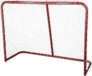 Franklin Sports Street Hockey Goal - Steel Street Hockey Net - All Weather Durable Outdoor Goal - 54&
