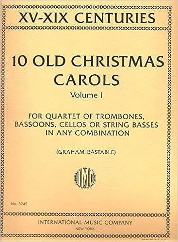 Old Christmas Carols.Amazon Com 10 Old Christmas Carols Volume1 Xv Xix