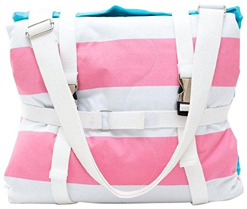Palm Beach Crew Brilliant Blanket and Wet Bag Collection, Cabana Pink by Palm Beach Crew (Image #3)