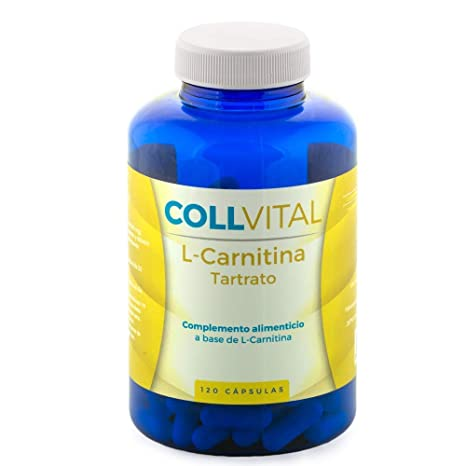 L CARNITINA pura 100% concentrada 120 capsulas complemento para la pérdida de peso y potente