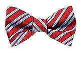 xl bow ties for men - FBTT-12055 - Mens XL Silk Self Tie Bow Tie