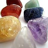 Gemstone CHAKRA KIT Crystal Healing Balancing Set