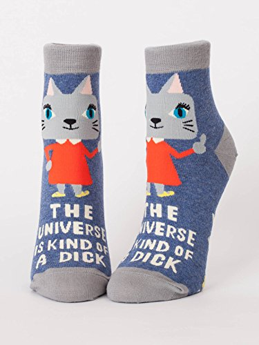 Blue Q Socks, Womens Ankle, The Universe Is Kind Of for sale  Delivered anywhere in USA
