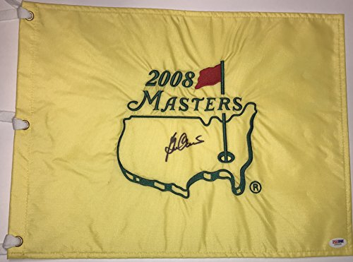 BEN CRENSHAW Signed 2008 Masters Golf Pin FLAG Pga w/ Psa Dna Coa