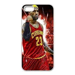 LeBron James HILDA0111982 Phone Back Case Customized Art Print Design Hard Shell Protection Iphone 5,5S