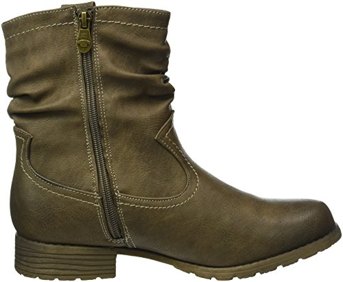 Tom Tailor Women's 8599903 Ankle Boots Brown (Taupe) qaPHMIx