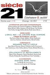 Siècle 21, N° 20, Printemps-été : Littérature anglaise contemporaine
