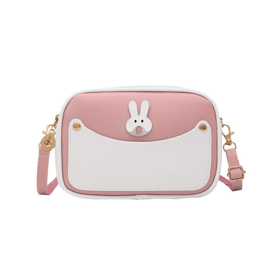 Ridkodg Fashion Women/' S Zipper Crossbody Pu Leather Shoulder Bag Messenger Bag Cute Print Phone Bag Handbag