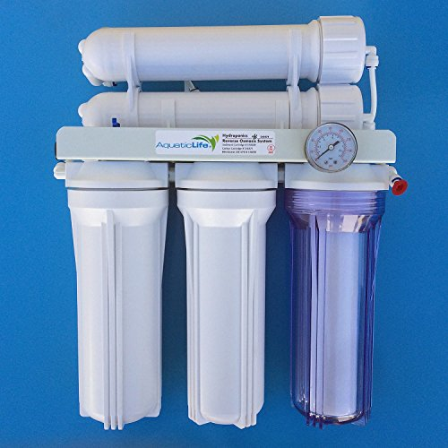 Aquatic Life 5-Stage 200 GPD Hydroponic Reverse Osmosis Filtration System by Aquatic Life