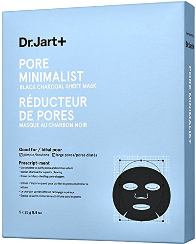 Dr.Jart+ Pore Minimalist Mask Black Charcoal Sheet Mask (5 Sheets)