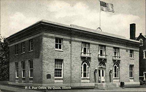 Amazon com: U  S  Post Office Du Quoin, Illinois Original