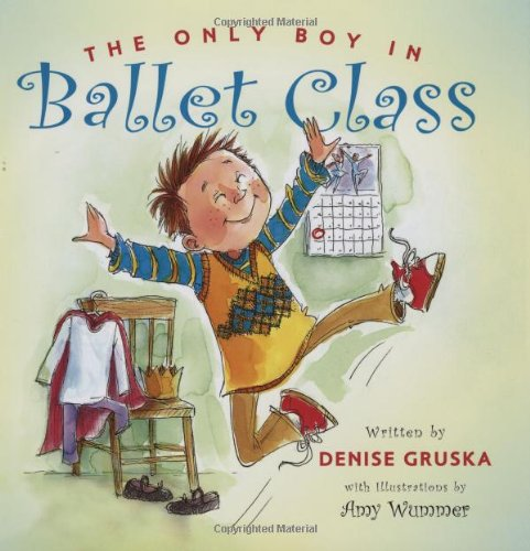 The Only Boy in Ballet Class by Gibbs Smith (Image #2)